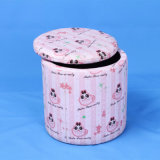 Round Storage Box and Chair/Kids Furniture/Children Furniture (SXBB-122)