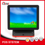 Factory Price POS System/ Terminal 15 Inch Single/Dual Screen with J1900+4+64GB
