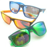 New Fashion Plastic Frame Design Sunglasses