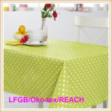 PVC Printed Tablecloth with Flannel Backing