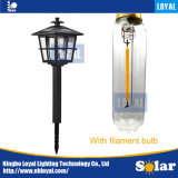 Ningbo Loyal Garden LED 9lm Filament Bulb 2018 New Product Solar Pathway Light
