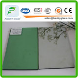 8mm French Green Float Reflective Glass for Building