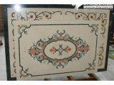 Natural Marble Stone Waterjet Medallion for Hotel Hall (MML007)