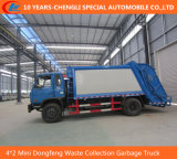 4*2 Mini Dongfeng Waste Collection Garbage Truck, Compressed Garbage Truck