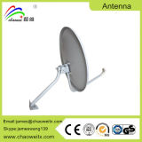 Ku60cm Outdoor Satellite Dish TV Antenna with Circle Base