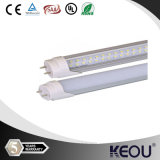 Plastic 10W 18W 28W T8 LED Tube Light