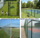2015 Good Selling! High Quality and Competitive Price Galvanized /Plastic Chain Link Fence