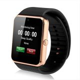 Gt08 Bluetooth Touch Screen Smart Wrist Watch Phone with Camera Support up to 32GB Memory Card RAM 128m ROM 64m