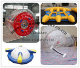 PVC Roller Flying Fish Ball Inflatable Water Games for Park
