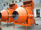 Mobile 350L Electric Cement Mixer by China Topall Factory