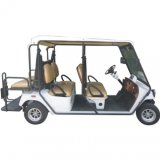 Electric Resort Vehicle, 4 Seats with Luggage Cargo Box, Eg2048h