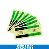 Custom Design Pharmaceutical Transparent Vial Labels Packaging
