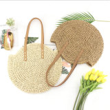 Wholesale Paper Straw Bag Fashion Summer Woven Round Straw Bag
