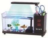 Factory price wholesale cheap custom mini desk USB acrylic used aquarium fish tank for sale