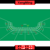 Baccarat Standard Free Commission Poker Casino Table Layout -8p with Green Color Can Be Custom (YM-BL06G2)