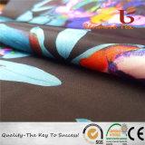 Printed Satin Chiffon Fabric for Garment, Dress