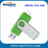 Swivel OTG USB Flash Drive for Android Mobile Phone and Computer