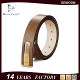 Wholesale Price Genuine Leather Press Buckle Men Belts