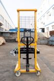 1 Ton Manual Hydraulic Jack Hand Pallet Lift Stacker /Oil Drum Stacker
