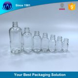 High Quality Clear Glass Bottle with Clear Rubber Dropper for Essential Oil