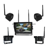 OEM ODM Wireless 9 Inch Quad DVR System with 4 Cameras
