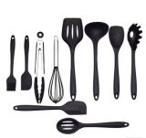 Silicone Kitchen Utensils Cooking Set Heat Resistant Utensils Cookware