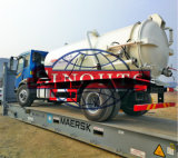 2500 gallons suction truck, 10m3 vacuum suction truck