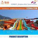 Fiberglass Screamer Open Slide Tube Big Portable Games Water Park Equipment