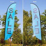 Wholesale Best Price Feather Beach Teardrop Flag