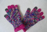 Children Fashion Knitted Jacquard Gloves