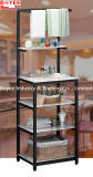 Particle Board Metal Kitchen Cookers Stand Shelf