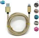 Braided Charging 2A USB Data Sync Charger USB Cable Wire for iPhone6, Type C and Andriod Phones
