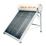 Non-Pressured Solar Energy Water Heater