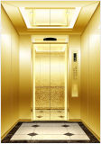Titanium Gold Decorated Passenger Elevator