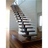 Popular Fashion Modern Design Stainless Steel Straight Staircase
