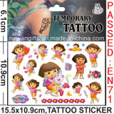 Wholesale Temporary Kids Dora Tattoo Sticker (cg071)