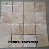Wellest Natural Travertine Multi Color Floor Paving Tile Wall Decorative Pattern Wall Stone Tile
