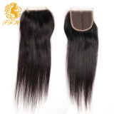Brazilian 4*4 Lace Closure Human Hair Lace Closure