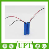 IEC 62133 Certificates Approved Icr 18650 Rechargeable 3.7V 2600mAh Lithium Battery+Protection Circuit