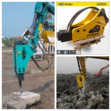 Hydraulic Breaker with Chisel 45mm Fits to Mini Excavator 3 T, Construction Machine