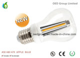 Apple Shape E26 E27 LED Globe Bulbs 300 Degree A70 10W with UL and Ce RoHS