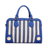 China Guangzhou Stripe Canvas Designer Bags (MBNO037062)
