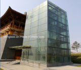 Insulated Laminated Tempered Glass Facade for Building