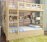 Solid Wooden Bed Room Bunk Beds Children Bunk Bed (M-X2202)
