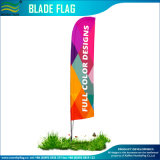 Custom Made Flying Beach Blade Feather Flag with Straight Button (NF04F06107)