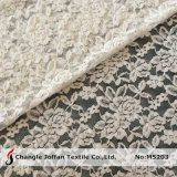 Allover Elastic Lace Fabric for Dresses (M5203)