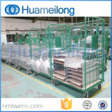 Warehouse Nesting Metal Steel Rolling Storage Container