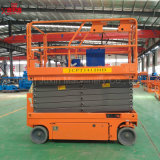 10m Hydraulic Battery Power Moving Scissor Lift Platform