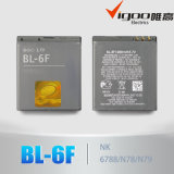 High Capacity Cellphone Battery Bl-6f for Nokia N95