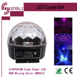 30W LED Crystal Magic Ball Stage Effect Light (HL-056)